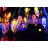 Buy cheap 11M 100LED bulbs solar panel power LED string lights fairy light for christmas from wholesalers