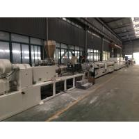 Wholesale SJSZ Series Conic Double Screw PVC Agriculture Pipe Extrusion Machine Line from china suppliers