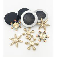 Wholesale Wholesale Cheap price copper brass material detachable hand fidget finger spinner QL1102 from china suppliers