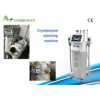 Wholesale 5 cryo handle body slimming machine professional fat freeze cryolipolysis cavitation vacuum from china suppliers