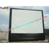 Wholesale Large Inflatable Projection Screen Outdoor Movie Theater For Christmas Decorations from china suppliers