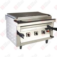 Wholesale 780mm Long Electric Tuber Heating Commercial Barbecue Height Adjustable Grill Table Top Style from china suppliers