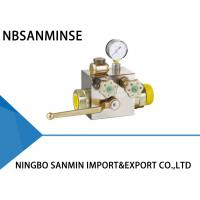 China AQF Small Hydraulic Solenoid Valve , High Safety Ball Valve For Accumulator on sale