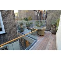 Wholesale Terrace design aluminum u base channel glass railing/ glass balustrade from china suppliers