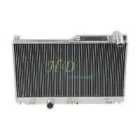 China 2 ROW design radiator tuning for MAZDA SPEED RX7 FD3S  rx7 s4 turbo MANUAL transmission  year1992 to 1995 on sale