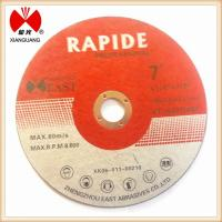 """Buy cheap 7"""" cutting and grinding discs for metal,stainless steel from wholesalers"""