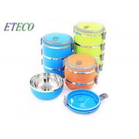 Wholesale Multi Layer Vacuum Bento Box , Stainless Steel Stainless Steel Mess Tin With Lid from china suppliers