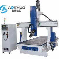 Wholesale China Servo Motor 1325  woodworking Cnc Router Machine 4 Axis Engraving Machine 1300*2500*200mm from china suppliers