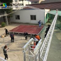 China China Manufacturer 1.22x2.44m Sale aluminum frame stage with plywood platform ,outdoor concert stage sale on sale