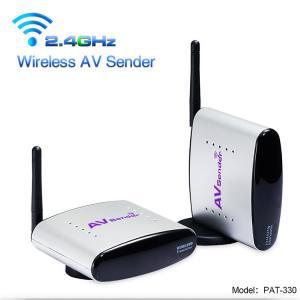 2.4GHz 150 Meter Transmit Distance Wireless AV Sender for Analog Signal CCTV Camera
