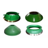 Mn18 Steel Casting Cone Crusher Concave , Mining Machinery Cone Crusher Liners