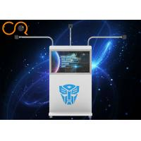 New Arrival white color simple operation interaction mini arena with more than 40 pcs vr games