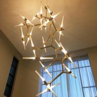 Quality Post-modern personalized hanging vintage led chandelier light pendant for sale
