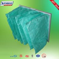 Wholesale Air Handling Unit Air Conditioning Air Filters , Pocket Cleaning Air Filters from china suppliers
