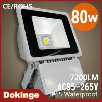 Wholesale High quality AC85~265V CE & ROHS IP65 80W led floodlight Waterproof from china suppliers
