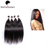 Buy cheap Unprocessed Raw Brazilian Virgin Human Hair Straight Hair Weft 10 inch  - 30 inch from Wholesalers
