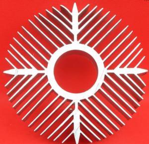 China Sunflower High Efficiency Extruded Aluminum Heatsink For Ceiling Light Radiator on sale