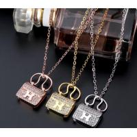 Wholesale Rose gold/silver/gold plated delicate handbag pendant heart necklace for girls from china suppliers