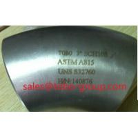 Wholesale ASTM A815 UNS S32760 90 Degree Elbow ASME B16.9 from china suppliers