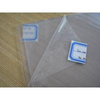 China Clear Silicone Rubber Sheet Rolls Food Grade Without Smell , Density 1.25-1.50g/cm³ on sale
