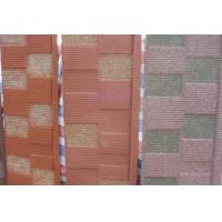 China residential Stone Chip Coated Metal Roofing Sheet / Tile For Corrugated Roof on sale