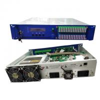 Wholesale GPON CATV High Power EDFA Amplifier 64 Ports With WDM Dual Power Supply from china suppliers