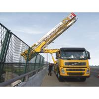Buy cheap Platform Type Bridge Inspection Truck chassis VOLVO 8x4 309KW(420HP) from Wholesalers