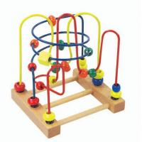Wholesale Ocean Animals Colorful beads wooden Rack toy from china suppliers