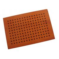 Wholesale Decorative Studio Room Perforated Wood Acoustic Panels , Sound Absorbing Board from china suppliers