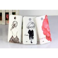 Wholesale Tear - resistant Slim PC Hard Back Cover HTC Cell Phone Cases For HTC Desire 300 301E from china suppliers