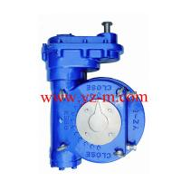 Quality Two stage manual worm gear box for ball valve ,butterfly valve and plug valve for sale