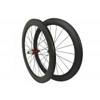 High Precision Carbon Clincher Road Bike Wheels Front 20H Rear 24H Anti High Temperature