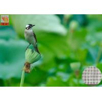 Wholesale Garden Plastic Bird Netting UV Stabilised , Square Plastic Bird Mesh Black Color from china suppliers