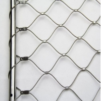 Wholesale 304 316L Stainless Steel Protection Animal 2m Zoo Wire Mesh from china suppliers