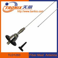 Wholesale 1 section fiber mast car antenna/ stainless steel mast car antenna/ active radio antenna TLD1260 from china suppliers