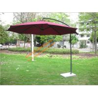 Wholesale Banana Umbrella Galvanized Iron Suspended Umbrella Waterproof Outdoor Offset Patio Umbrella from china suppliers