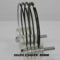 China High Performance Chrome C240 Auto Piston Ring Set For Isuzu Truck , OEM 9-12181-138-0 on sale