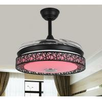 Wholesale Decorative 42 Inch Bluetooth Ceiling Fan Light Remeote Control Three Speed Grades from china suppliers