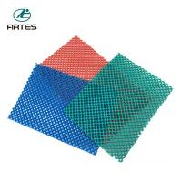 Wholesale Anti - Fatigue Comfort Large Bathroom Mats , Wear Resistant Blue Bath Mat from china suppliers