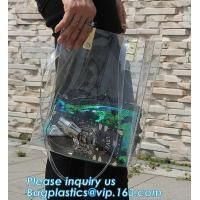 Wholesale Female Casual Toiletry Shoulder Bags, summer waterproof clear pvc shopping bag bag custom transparent grocery shoulder b from china suppliers