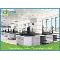 Wholesale Modern Design Steel Science Lab Tables With Sinks And Ceramic Worktop Easy Clean from china suppliers