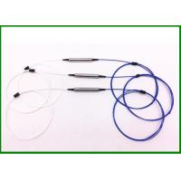 Buy cheap 1310nm SM Single Fiber Optic Isolator with 0.9mm cable in steel tube for Optical from wholesalers