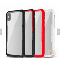 China Armor Glass Mobile Case Cover Tempered For Iphone X Shockproof Red Pink Green on sale