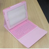 Wholesale Leather + PC Tablet Keyboard Cases Pink Blue Purple / Ipad Keyboard Cases from china suppliers