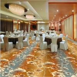 Buy cheap Flower Printed PVC Carpet Flooring 80% Wool 20% Nylon Jacquard Style from wholesalers