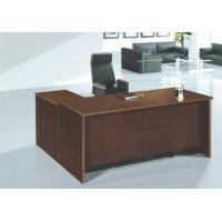 modern wooden MFC office manager table furniture in warehouse