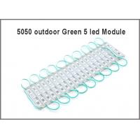 China SMD LED Module 5050 5 lights  Modules light DC 12V waterproof LED store advertiing  backlight sign on sale