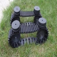 Hot Sale and Safe Small Robot Rubber Track (118*61*24)
