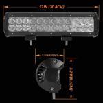 Wholesale Aluminum Material Auto LED Mini LED Light Bars 3W/PCS Cree LEDS Work Light Bar IP 68 from china suppliers