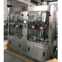 Wholesale Labelong Liquid Bottling Machine Washer Rinser Capper 304 Stainless Steel from china suppliers